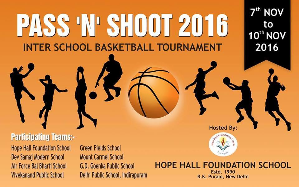 Pass n Shoot | Hope Hall Foundation School