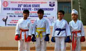 INTER-SCHOOL KARATE CHAMPION SHIP