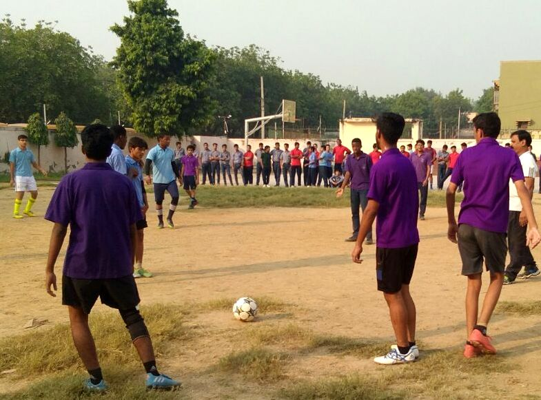 INTER-HOUSE SR .FOOT BALL MATCH- 2017