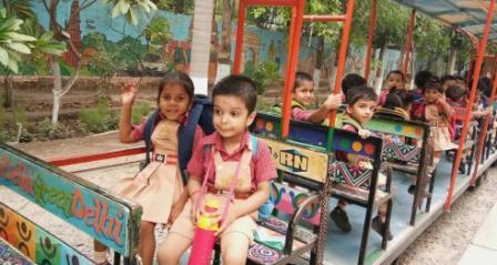 Visit to Bal Bhavan | Hope Hall Foundation School